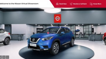 Nissan launches virtual showroom in India, puts up BS6 Kicks on display - IAB Report