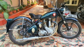 More than 6 decades old BSA B31 Plunger model fully restored