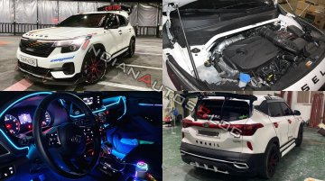 """This Kia Seltos modified with custom parts sets new standards for """"badass"""""""