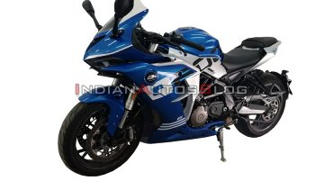 Benelli Q600 upcoming middleweight sports bike leaked - IAB Report