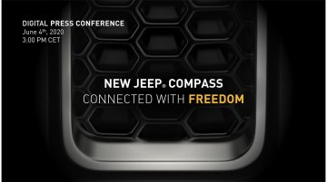New Jeep Compass facelift teased, to be unveiled on 4 June - IAB Report