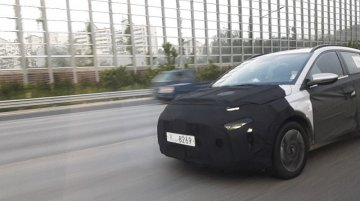 Hyundai compact MPV (Ertiga rival) spied for the first time