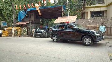 Tata Harrier joins Uddhav Thackeray's security fleet [Video]