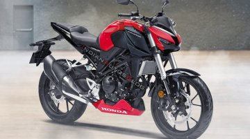 Next-gen Honda CB300R 2022 imagined - IAB Rendering