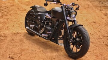This enticing Low-Ride Cruiser is based on a Royal Enfield 350