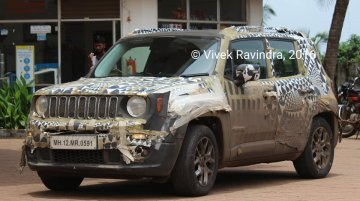 Jeep Renegade spied in India again as testing restarts - Report