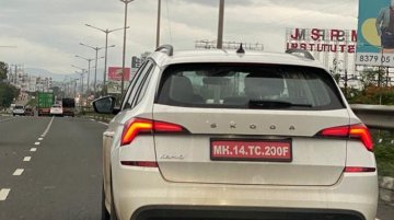 Skoda Kamiq spied in India again, being tested for Skoda Vision IN launch - IAB Report