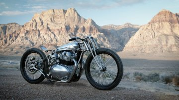 Royal Enfield Continental GT 650 transformed into an impressive hardtail bike by Sosa Metalworks
