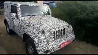 2020 Mahindra Thar diesel automatic captured in a video