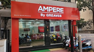 Ampere electric scooters available at attractive leasing plans