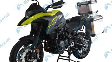 Benelli TRK 502-based QJ SRT 500 revealed via leaked images - Report