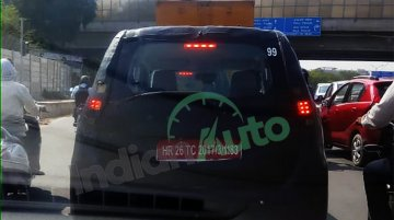 Maruti WagonR EV Spotted On Test Again Wearing Heavy Camouflage