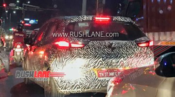 Could this spy shot be of upcoming Tata Altroz turbo petrol variant?