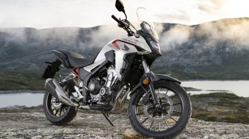 2020 Honda CB400X dual-sport motorcycle revealed in Japan - IAB Report