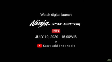 Kawasaki Ninja ZX-25R to be launched in Indonesia on 10 July [Video]