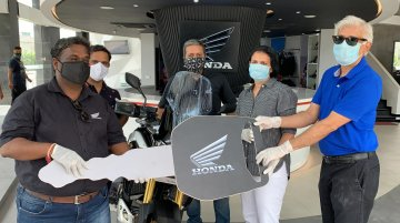 2020 Honda Africa Twin deliveries commence in India - IAB Report