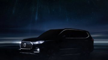 MG Motor India officially teases the new Gloster on its website