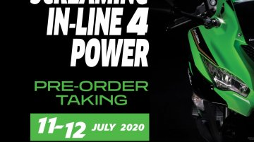 Kawasaki Ninja ZX-25R pre-booking details for Indonesia revealed