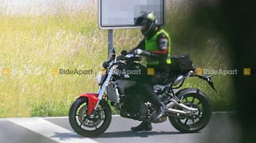 2021 Ducati Monster spied testing for the first time - Report