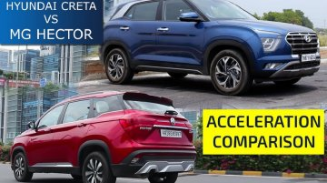 2020 Hyundai Creta Vs MG Hector 0-100 kmph Acceleration Run