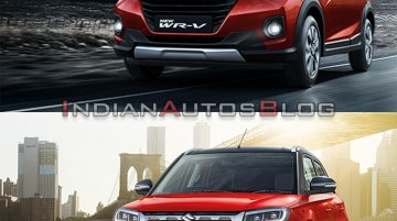 Honda WR-V vs. Maruti Vitara Brezza: Specs, features and prices compared