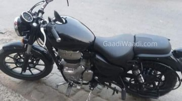 Black Royal Enfield Meteor 350 spotted ahead of launch