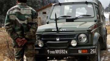 Indian Army Receives 718 Units Of New Maruti Gypsys In June