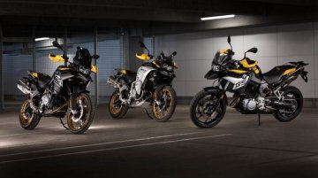 BMW F 750 GS & F 850 GS '40 Years of GS Edition' models unveiled