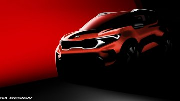 Production-Spec Kia Sonet Revealed In New Official Render