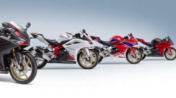 2021 Honda CBR250RR with more power & new colours launched in Japan