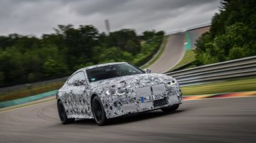 All-New BMW M3 and M4 Undergo Performance Testing At The Nurburgring