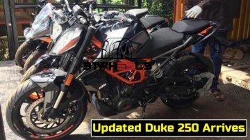 2020 KTM 250 Duke with 390 Duke's LED headlight spotted - Report