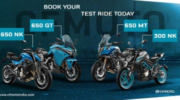 CFMoto BS6 bikes to arrive after September, bookings & test ride details inside