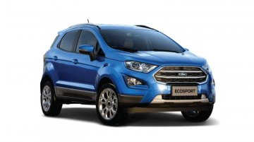 Ford Ecosport Now More Affordable Than Before; Sunroof Added To Mid-Spec Trim