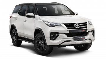 Toyota Fortuner TRD Limited Edition Launched in India at INR 34.98 Lakh