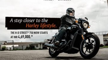 Harley-Davidson Street 750 price slashed by a whopping INR 65K - IAB Report