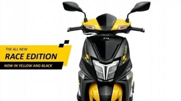 TVS NTorq 125 Race Edition to get a new yellow/black colour option