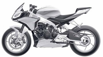 Aprilia Tuono 660 final design revealed via leaked patent images