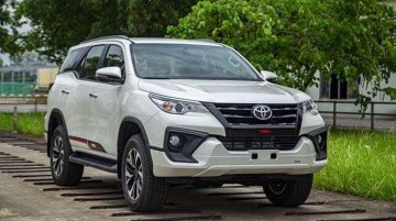 2020 Toyota Fortuner TRD Limited Edition Caught In Action