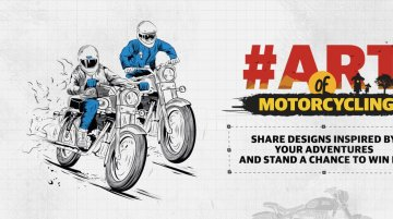 Royal Enfield Art of Motorcycling campaign commences in India