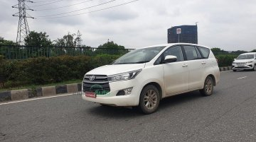 Toyota Innova Crysta CNG Spotted Testing, Launch Most Likely This Diwali