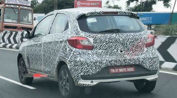 Rumoured Tata Tiago turbo petrol variant spotted fully disguised