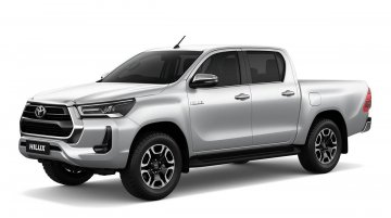 Toyota Hilux pickup truck under evaluation for the Indian market