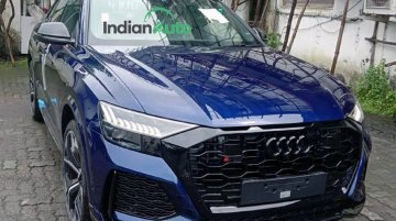 Audi RS Q8 Snapped At Dealership Days Before Its Launch