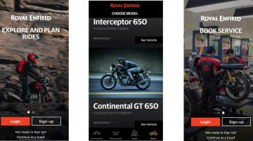 Royal Enfield mobile application for both Android and iOS launched [Video]