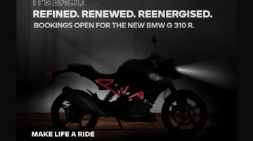 BS6 BMW G 310 R teased, official pre-bookings to begin from tomorrow, launch soon