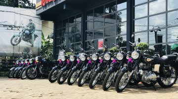 1000 Royal Enfield bikes delivered in Kerela on the festival of Onam