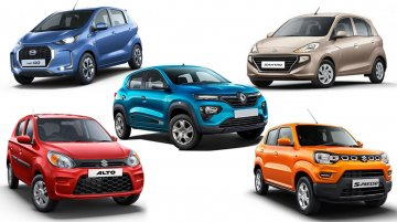 Top 5 Budget Cars Under INR 5 Lakh in India: Datsun, Renault and More