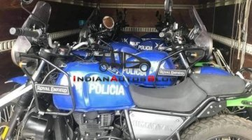 Royal Enfield Himalayan added to Argentina Police's fleet