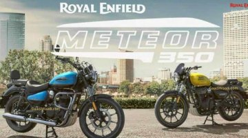 More Royal Enfield Meteor 350 details leaked ahead of launch